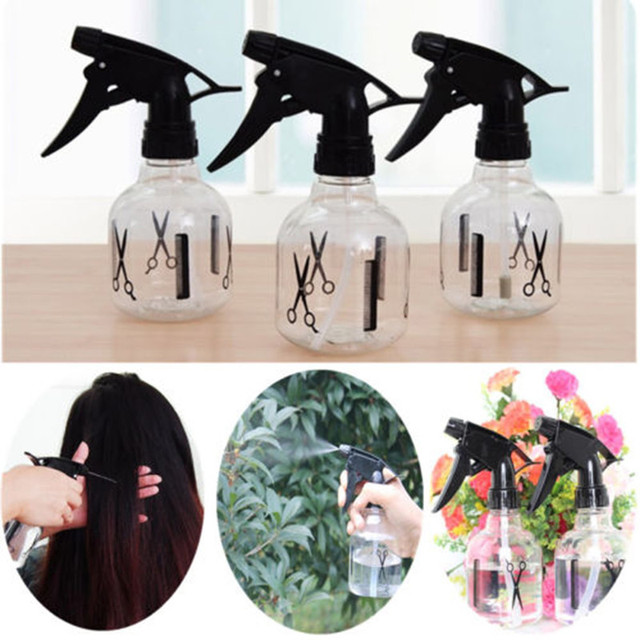 250ml Plastic Hairdressing Spray Bottle Makeup Tools Accessories Plant Flower Watering Pot Garden Mister Sprayer Cleaning Tool
