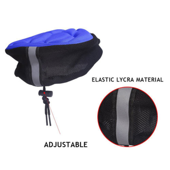 Zacro Bicycle Saddle 3D Soft Bike Seat Cover Comfortable Foam Seat Cushion Cycling Saddle for Bicycle Bike Accessories 9