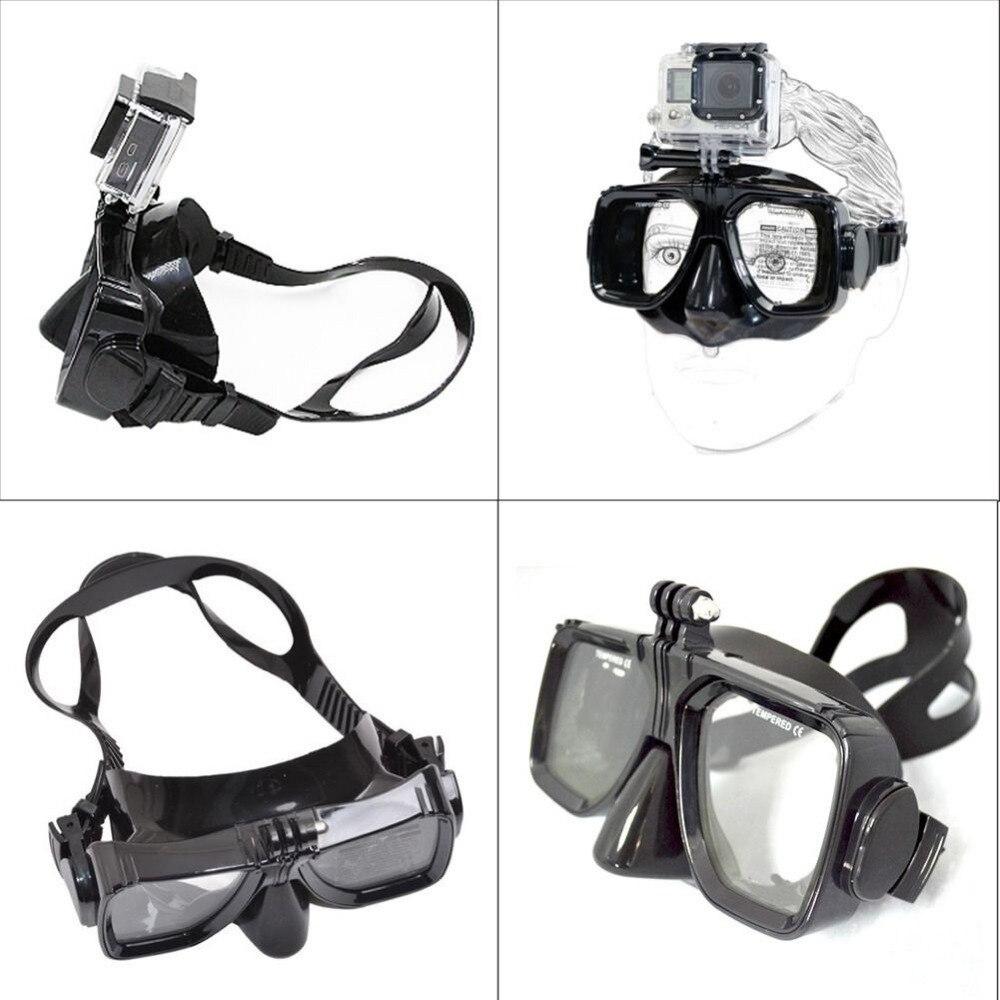 Pour Aller pro haute qualité Plongée Lunettes pour GoPro Hero 6 5 4 3 + 3 Session SJ4000 SJ5000 SJ6000 sport caméra Silicone de natation