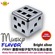 Car Accessories  musky  flavor  car instrument desk aromatic  deodorant fragrance perfume fr901  free shipping