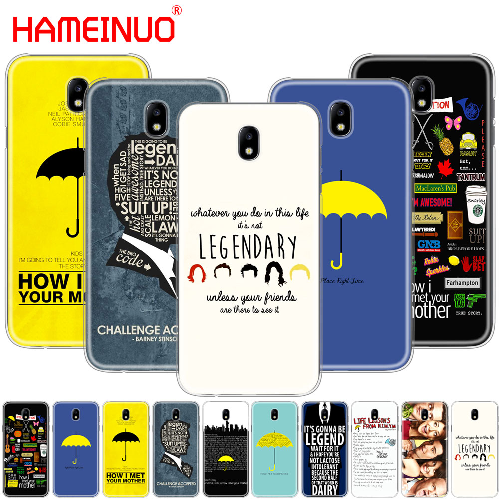 HAMEINUO how i met your mother himym quotes cover phone case for Samsung Galaxy J3 J5 J7 2017 J527 J727 J327 J330 J530 J730 PRO