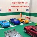 1: 64 de aleación modelo de coche 1: 64 doble puerta de coche deportivo de carreras de coches clásicos modelos de bolsillo kids toys materiales de aleación modelo de coche