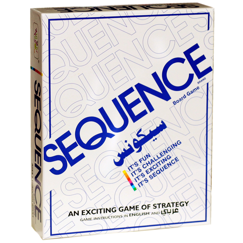 Sequence Game Board Game Game Hot Education For Children Logic Training 2-12 Player Strategy indoor games