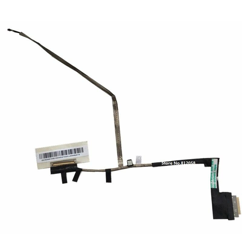 WZSM New laptop LCD LVDS Video cable For Acer Aspire one 756 V5-131 V5-171 Flex Cable P/N DC02001KE10  laptop hinge for acer aspire v5 v5 131 v5 171 aspire one 756 left