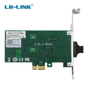 Image 4 - LR LINK 9030PF LX 100 mo carte réseau Fiber optique PCI express x1 100FX adaptateur Lan Ethernet pour PC Intel 82574 Nic