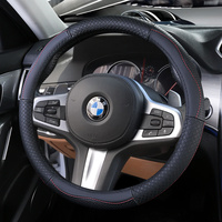 Top Layer Leather Wheel Steering Covers for BMW 1 2 3 4 5 6 7 Z Series E46 E90 E87 F20 F22 F45 F30 G20 E60 F10 G30 F01 G11 E89