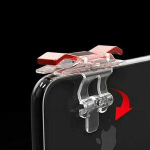 Image 5 - 2 шт., контроллер для мобильных игр, игровой триггер, кнопка запуска L1R1, кнопка запуска, джойстик для шутеров, для PUBG Phone Gaming