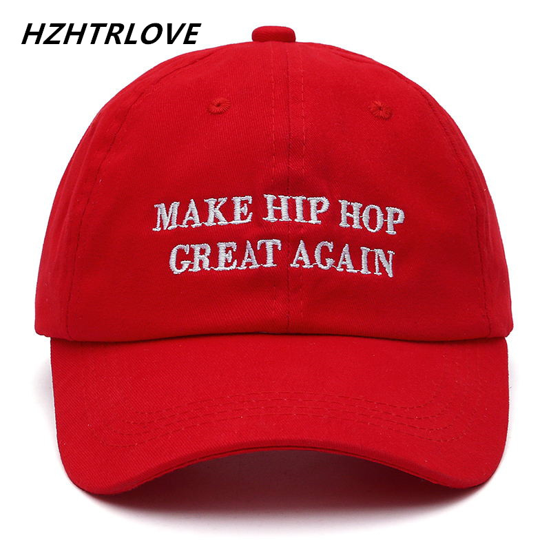 High Quality Brand Letter MAKE HIP HOP GREAT AGAIN Snapback Cap Cotton Baseball Cap For Men Women Hip Hop Dad Hat Bone Garros [yarbuu] 2016 new cotton letter brand baseball cap men and women snapback do old motorcycle hat 8 colors hip hop jeans caps