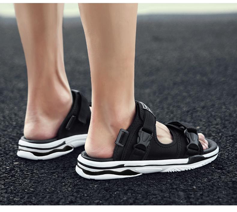 Man Beach Sandals Summer Gladiator Men's Outdoor Shoes Roman Men Casual Shoe Light Flip Flops Slippers Fashion Sandals Casuals 30