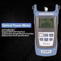 Handheld FTTH Fiber Optic Optical Light Power Meter Fiber Optical Cable Tester Networks FC/SC connectors 70~+30dBm