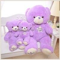 낭만 퍼플/바이올렛 곰 선물 생일 파티 선물 호의 보라색 그들을 웨딩 선물 장식 무료 배송