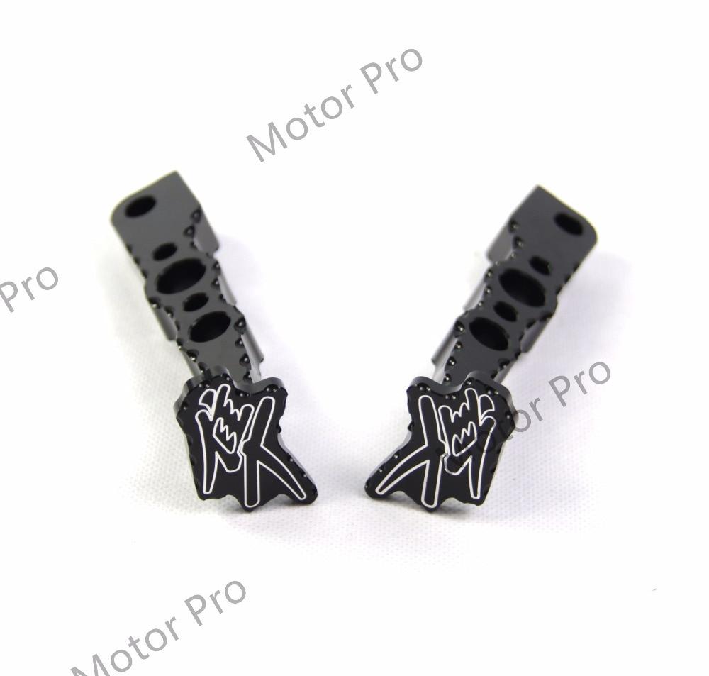Footrests For Suzuki GSXR 1300 2008 - 2017 Passenger Foot Peg Pedal GSX-R GSX R Hayabusa 2009 2010 2011 2012 2013 2014 2015 2016