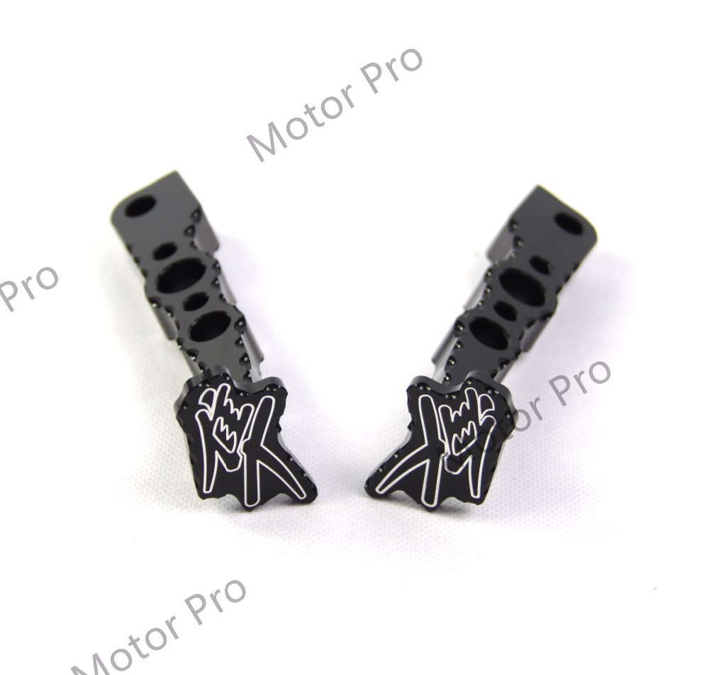 Footrests For Suzuki GSXR 1300 2008 - 2017 Passenger Foot Peg Pedal GSX-R GSX R Hayabusa ...