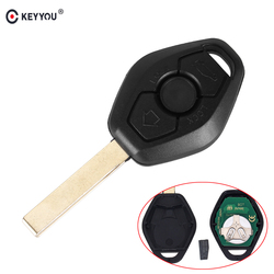 KEYYOU 3 Button Remote Key For BMW X3 X5 Z3 Z4 1/3/5/7 Series EWS System 315/433MHZ With PCF7935 ID44 Chip HU92 Blade