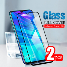 2pcs p smart 2019 Glass scrren protector For huawei p smart 2019 tempered glass