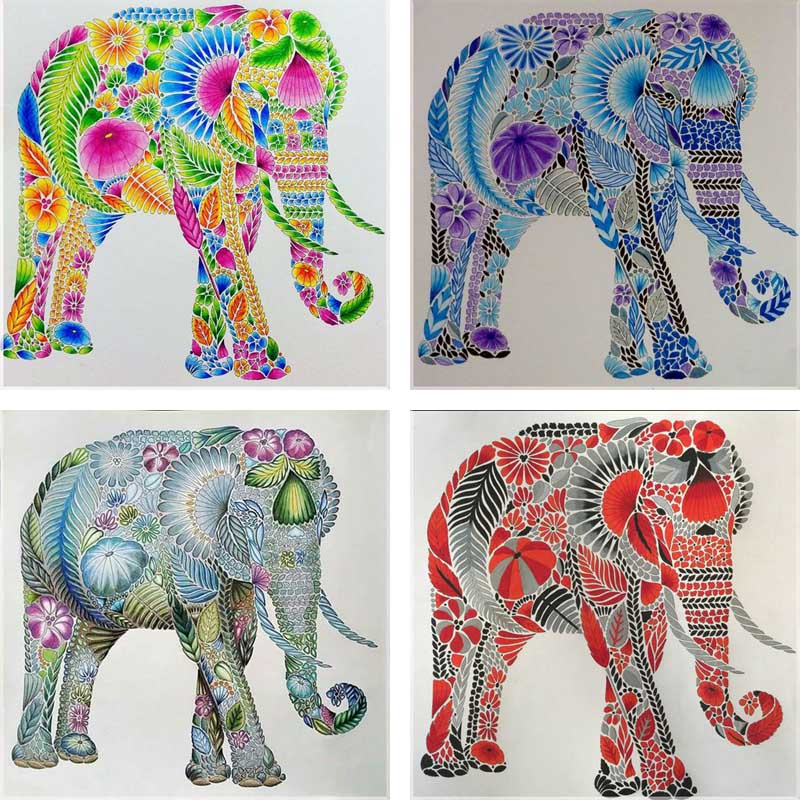 Online buy wholesale colorful elephant from china colorful elephant wholesalers Colorful elephant home decor