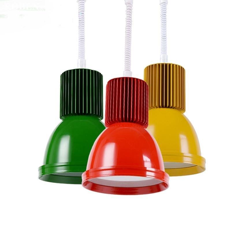 все цены на Fresh fruit light LED pendant lamp color thick shell lamp seafood supermarket cold meat pork cooked pendant light ZA1027618