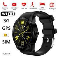 ALLOYSEED K98H Smartwatch Phone Android 4.42 1.3 inch 1.2GHz Dual Core 4GB GPS Bluetooth Sport Hearte Rate 3G SIM Smart Watch