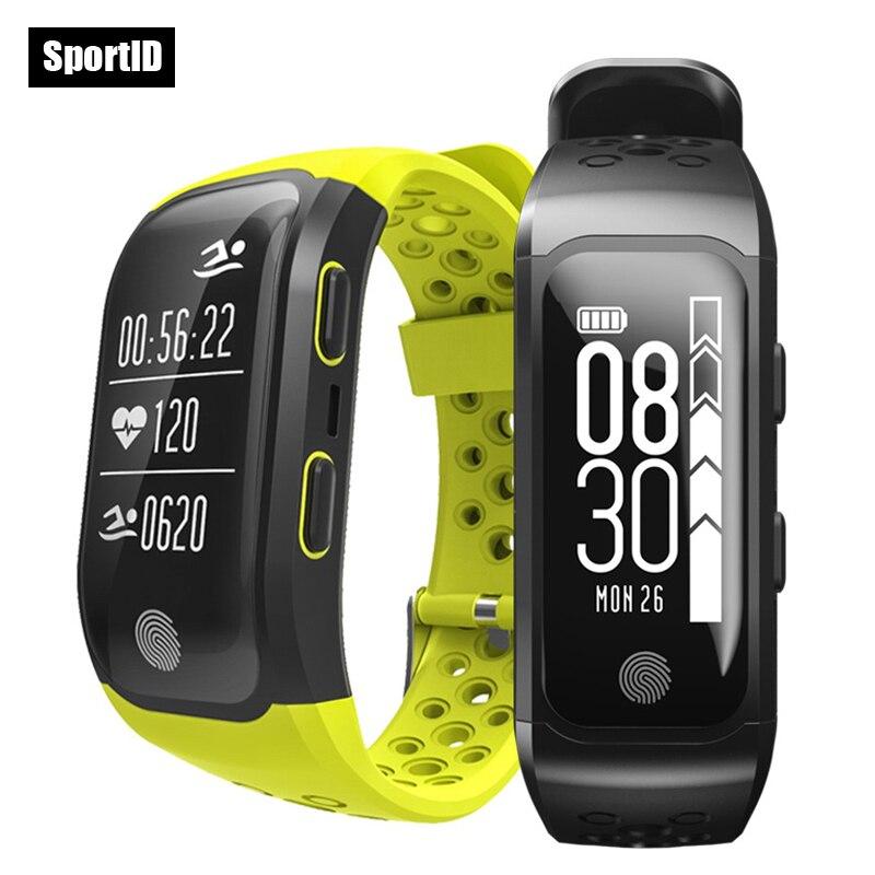 все цены на S908 GPS Sport Watch Swimming Watches IP68 Waterproof Smart Bracelet Heart Rate Monitor Pedometer Band Fitness Tracker Wristband онлайн