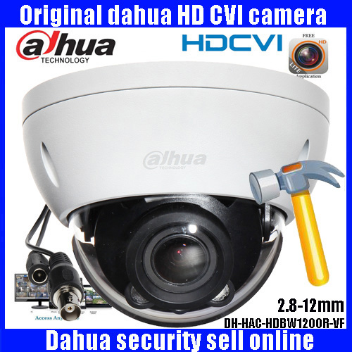 HD1080p Dahua HDCVI Camera 2MP DHI-HAC-HDBW1200RP-VF IR Dome  Security Camera CCTV IR distance 30m HDBW1200RP-VF dahua hdcvi dome camera 1mp 720p mini ir hdcvi camera security ip camera cctv 30m ir distance ip67 without logo hac hdw1100r vf