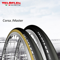 Veloflex Manufactured CORSA/Master 320TPI Road Cycling Open Tubulars Bicycle Foldable Tire CLINCHER 700X23C 25C 28C