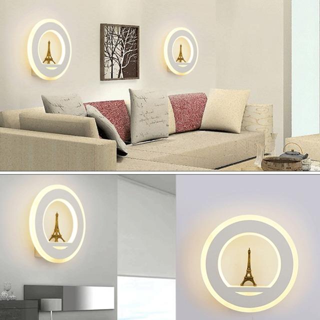 Eiffel Tower Designed Wall Lamp