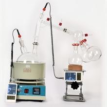 Продажа Лаборатории Лидер продаж масштаба короткий путь дистилляции оборудования 20L короткий путь дистилляции с помешивая колбонагреватель включают холодная ловушка