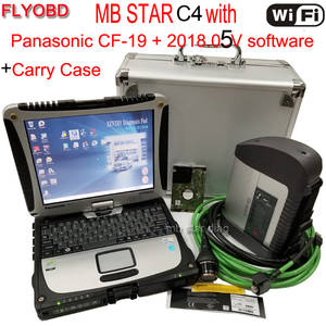 CF-19 4 GB MB star C4 SD Connect Star Diagnosis-Tool with 05/2018 V Software