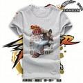 Free Shipping Short Mens Fashion Street Fighter T shirt Teens KEN Top Street Fighter Shirt