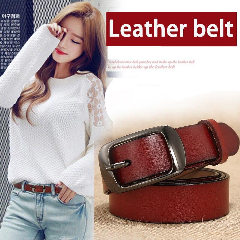 [DWTS] gürtel weiblichen echtem leder gürtel für frauen designer marke luxus frauen ceinture femme cinturon mujer cinto feminino