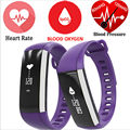 M2  heart rate monitor smart bracelet with OLED display blood pressure ,waterproof fitness wristband