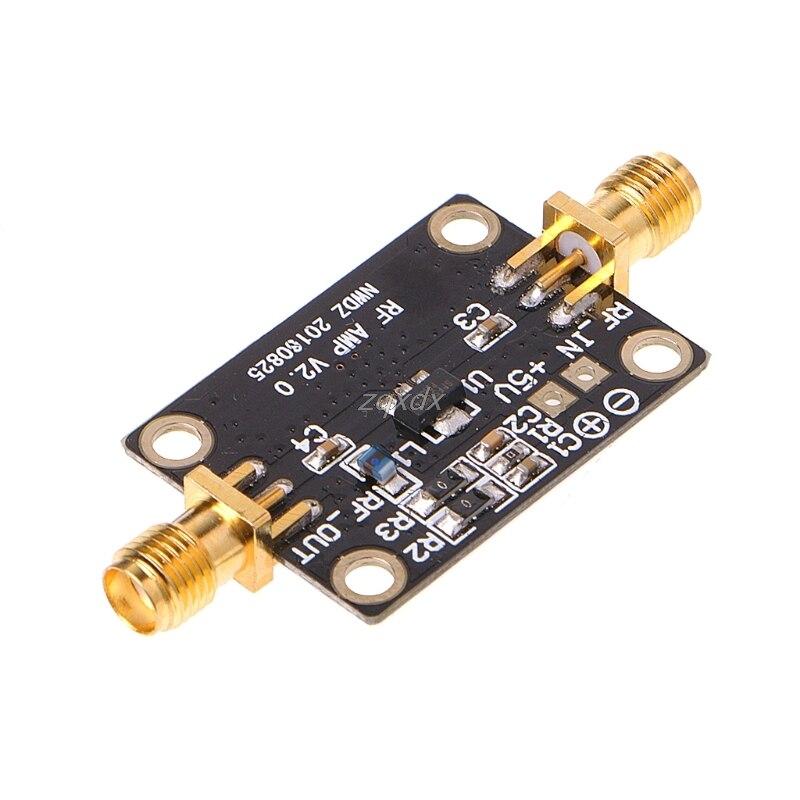 Ultra-bajo ruido, LNA 0,05-4G NF = 0.6dB alta linealidad amplificador de RF FM HF VHF/ UHF Z07 de la nave de la gota
