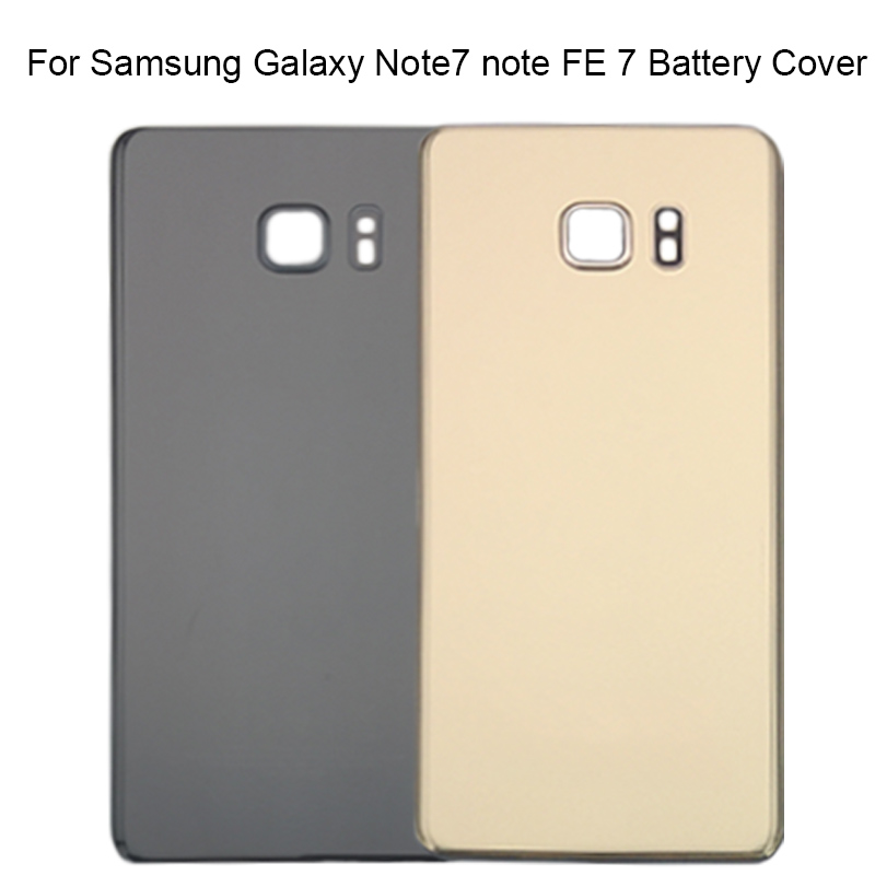 For Samsung Galaxy Note7 Note FE 7 N930 N930F N935 Back Housing Rear Glass Door Case Note Fan Edition Back Battery Cover