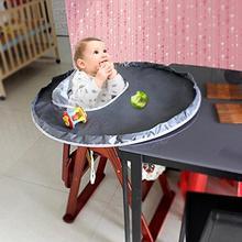 Детский обеденный коврик для еды, стул, чехол для сиденья, водонепроницаемый детский стульчик, бампер, коврик для места, предотвращающий ребенка от бросания еды, нагрудник