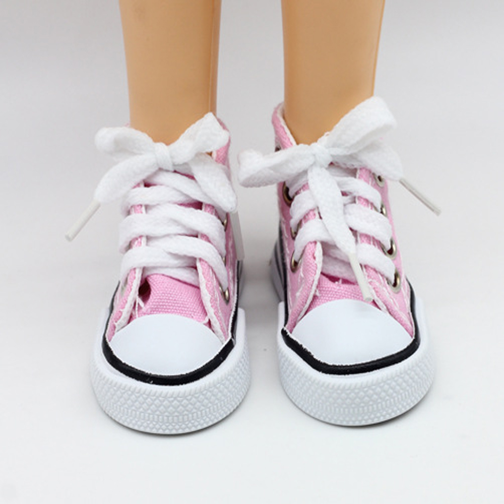 New Fashion Baby Born Doll Shoes Sport Style Shoes Canvas Shoes Fits 43 cm Zapf Dolls Baby Born and 16 American Girl 13 BJD (2)