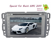 Android 4.4 BT GPS Audio Sub Radio OBD2 HeadUnit Map Autoradio Car DVD 7 APP Touch Screen 4 Core Stereo For Buick GMC