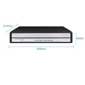 Image 2 - Keeper vidéosurveillance en réseau, 4CH ou 8CH, avec porte POE 1080P 2mp, 48V, pour caméra IP H.264, P2P ONVIF