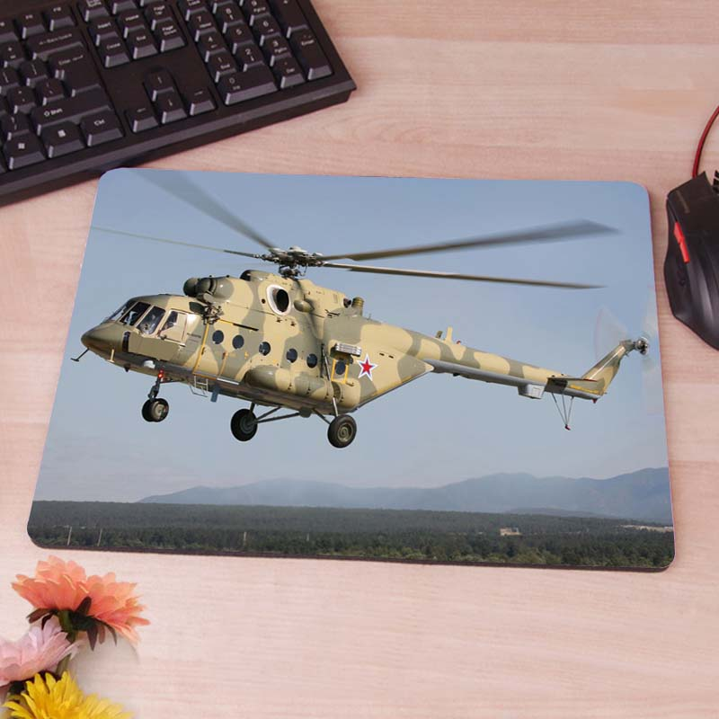 MaiYaCa Mi 8 Multipurpose Transport Helicopter Silicon Anti-slip Mouse Mats Comp