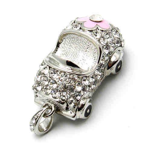 High Quality 1pc/Lot Crystal Jewelry Mini USB Flash Pen Drive Memory Stick U Disk Pendrive/Thumb Drive/Car Drives Driver Gift