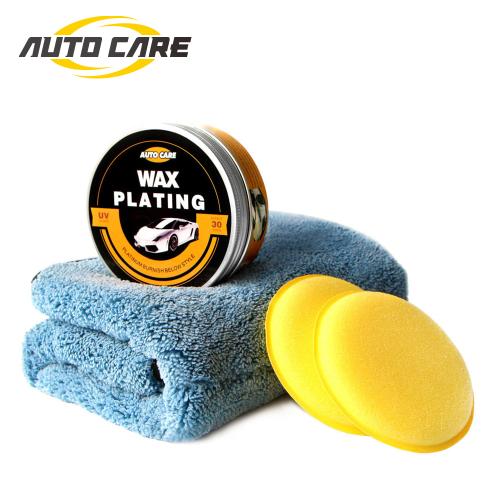 AutoCare Car Wax Cystal Plating Set Hard glossy wax layer covering the paint surface coating formula Super waterproof film(China)