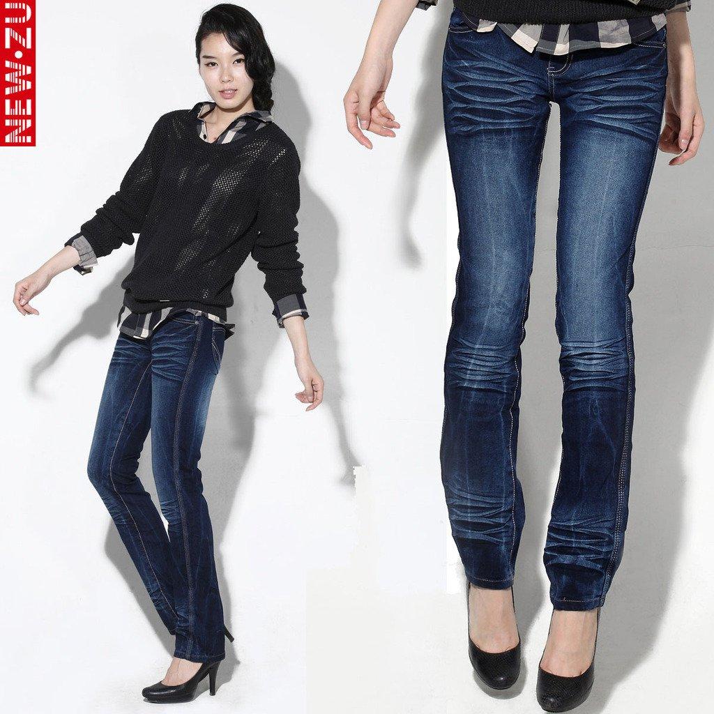 Holiday Sale Newzu Cattle Straight Jeans Women,Summer 100 Cotton ...