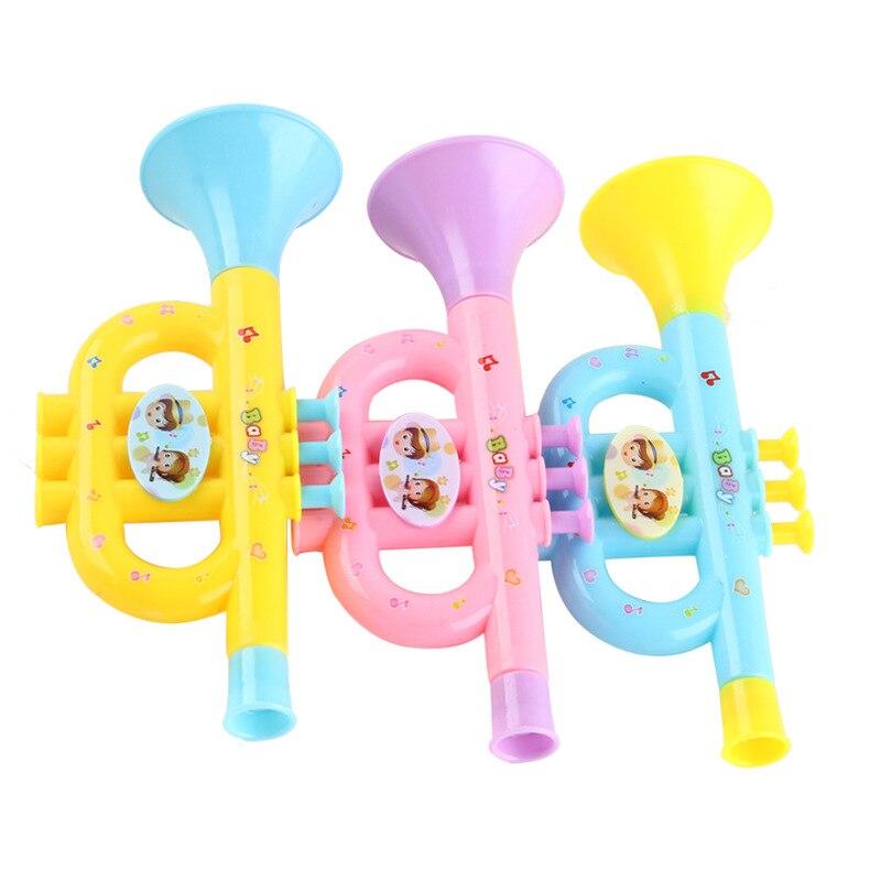 Cute Colorful PlasticTrumpet Speaker Children Baby Musical ...