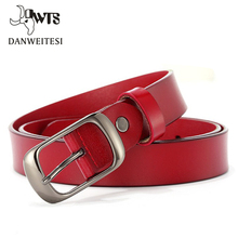 [DWTS] new  leather women belt hot brand high quality women short leather belt students a pure color stripes цены