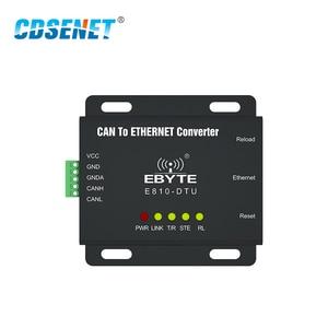 Image 2 - E810 DTU(CAN ETH) CAN Bus Ethernet Прозрачная передача Modbus протокальный последовательный порт беспроводной трансивер модем