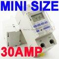 SINOTIMER 30 a alta carga 220 V 7 días Digital programable temporizador interruptor relé Control de tiempo para encendido/apagado en un tiempo preestablecido