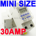 SINOTIMER 30A High Load 220V 7 Days Digital Programmable TIMER SWITCH Relay Time Control for ON/OFF at a Preset Time