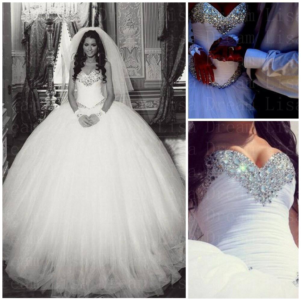 Ball Gown Wedding Dress 2017 Sweetheart Off The Shoulder Beaded Bodice Free Veil Summer Style Bridal Gowns Vestido De Noiva In Dresses From Weddings