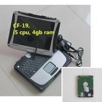 Cho Panasonic CF-cf19 Toughbook Cf i5 máy tính xách tay với V2018.01 ICOM A2 phần mềm HDD Cho BMW ICOM A2 Bc C công cụ Chẩn Đoán sẵn sàng sử dụng