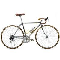 Ретро дорога Велосипедный Спорт фиксированной Шестерни велосипед DIY Полный Британский стиль 14 скорость Дорожный велосипед джентльмен Ретр