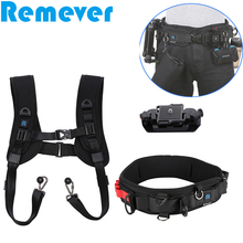 New Shoulder Straps Waist Strap for Canon Nikon Sony DSLR Cameras Quick Release Install Belt Shooting Photographer